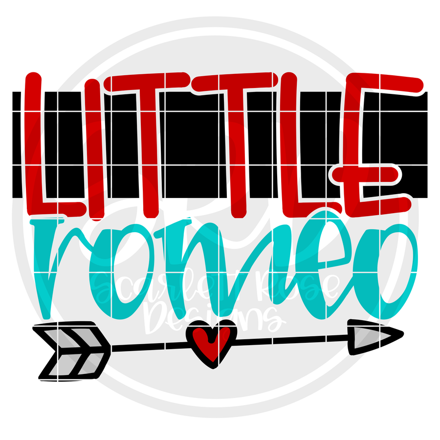 Little Romeo SVG