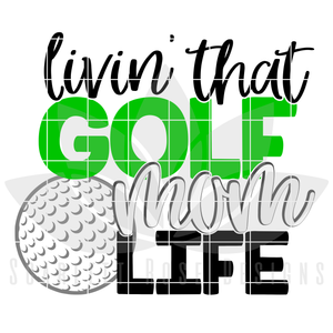 Golf Dad - Golf Mom SVG SET