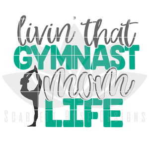 Gymnast Dad - Mom SVG SET