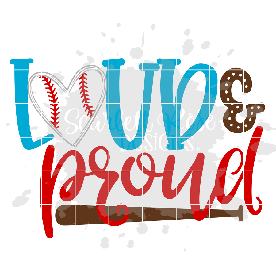Loud and Proud - Baseball SVG