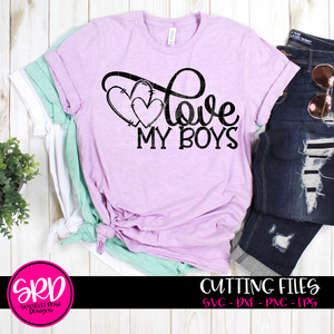 Love My Boys SVG - Valentine 2