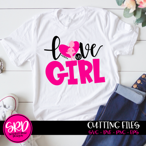 Love My Girl - Dance SVG