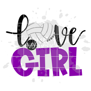 Love my Girl - Volleyball SVG