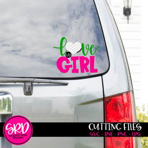 Love my Girl - Golf SVG