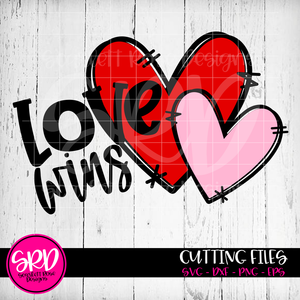 Love Wins SVG - Color