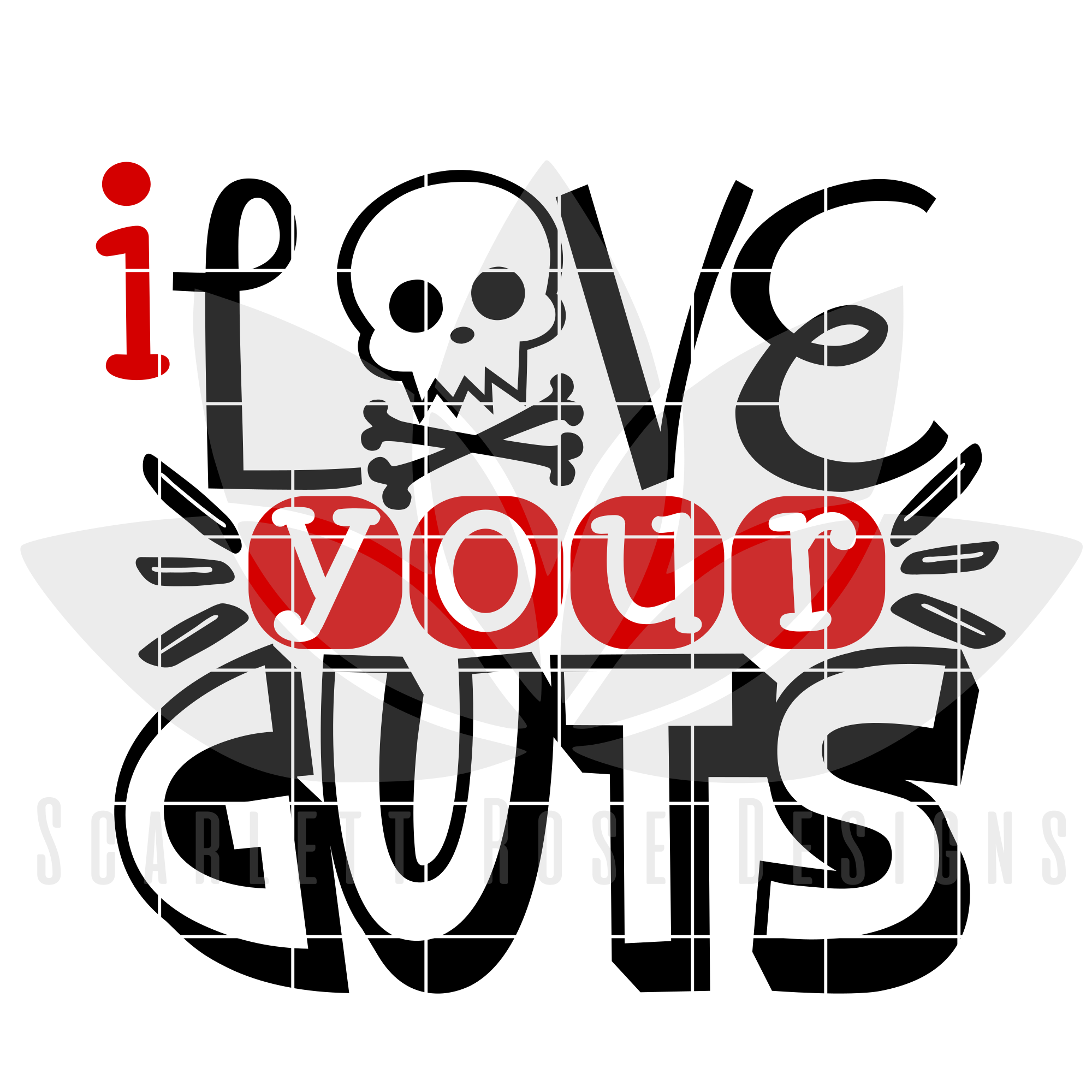 Download Valentine's Day SVG, I Love Your Guts SVG cut file ...