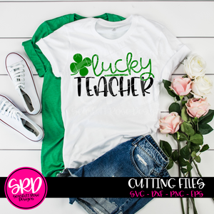 Lucky Teacher SVG