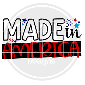Made in America SVG