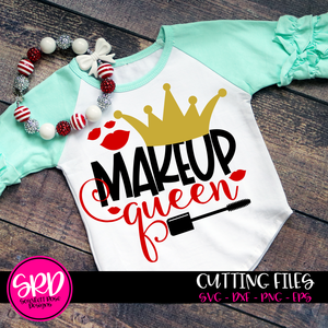 Makeup Queen SVG