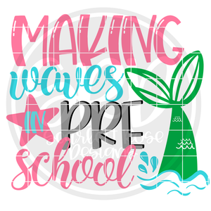 Making Waves in Preschool SVG
