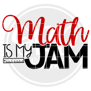 Math is my Jam SVG
