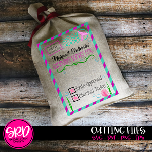 Christmas Bag, Mermail Deliveries SVG