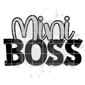 Mini Boss SVG