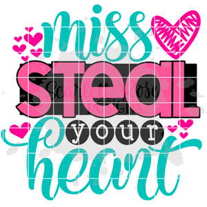 Miss Steal your Heart SVG