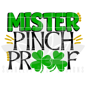 Mister Pinch Proof cut file