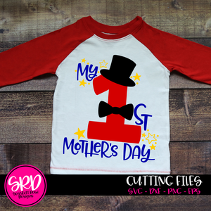 My First Mothers Day, SVG, DXF cut file