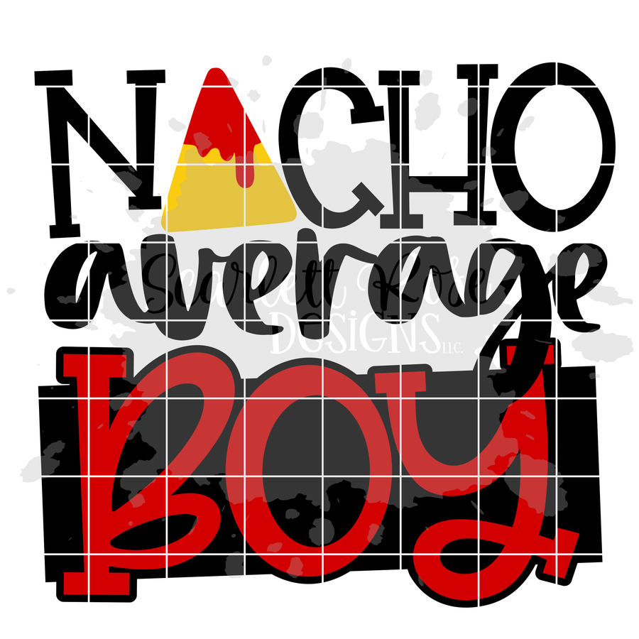 Nacho Average Boy SVG