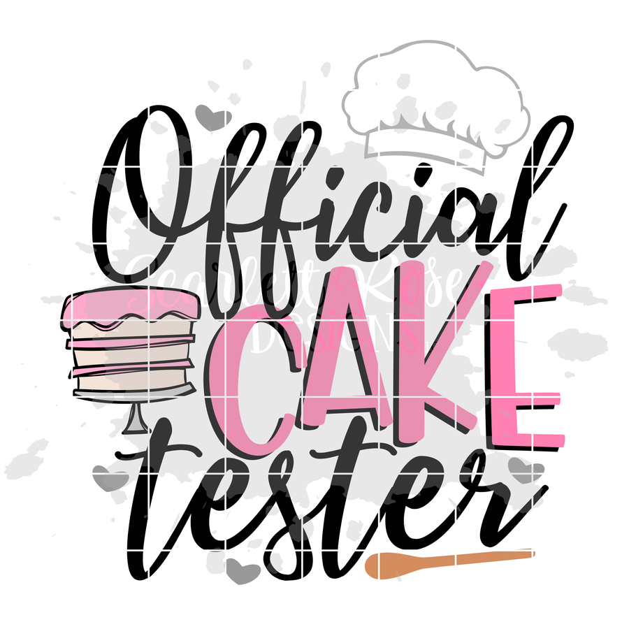 Official Cake Tester SVG