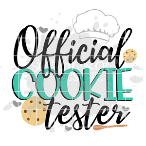 Official Cookie Tester 2018 SVG
