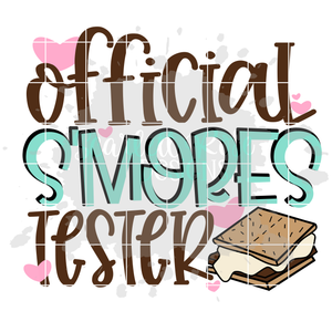 Official S'mores Tester SVG - Girl