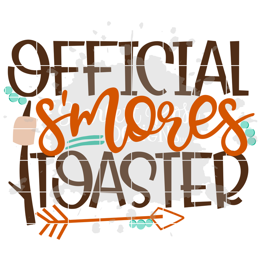 Official S'mores Toaster SVG - Boy