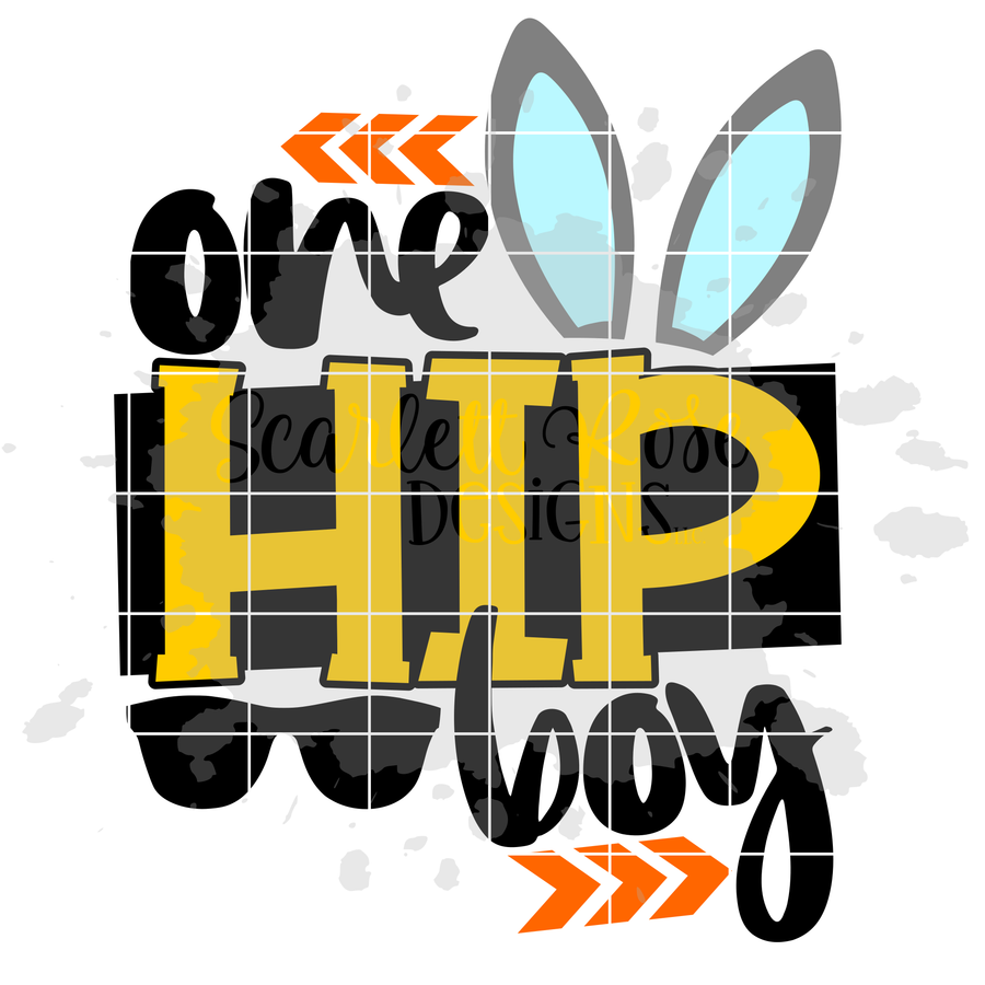 One Hip Boy SVG