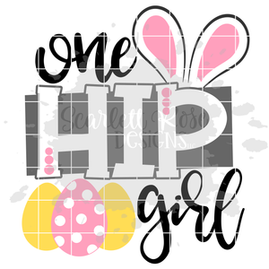 One Hip Girl SVG