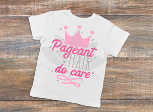 Pageant Queen SVG, Pageant Hair, Do Care cut file