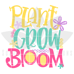 Plant Grow Bloom SVG