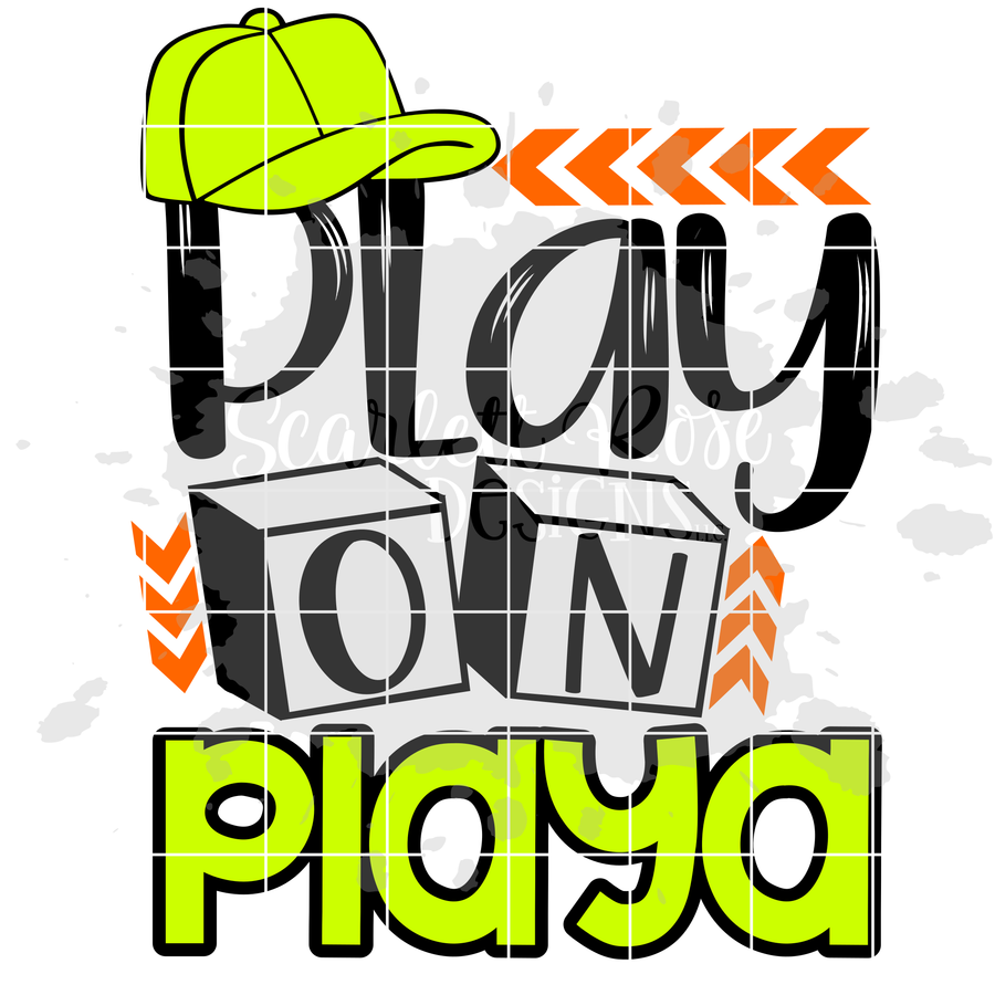 Play on Playa - Blocks SVG