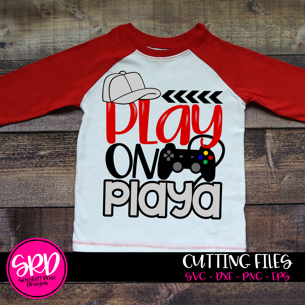 Play on Playa - Video Game SVG