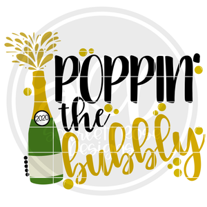 Poppin Bottles, Poppin Bubbly SVG