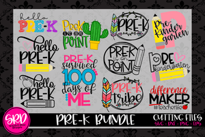 The Pre-K SVG Bundle