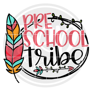 Preschool Tribe SVG