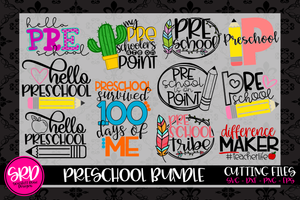 The Preschool SVG Bundle