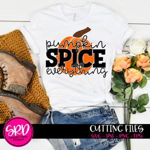 Pumpkin Spice Everything SVG