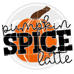 Pumpkin Spice Latte SVG