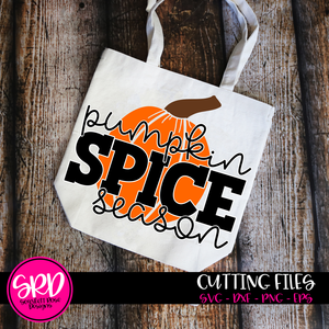 Pumpkin Spice Season SVG