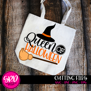 Queen of Halloween SVG - Color