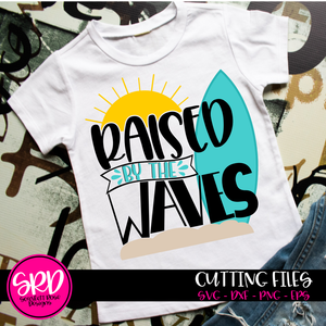 Raised by the Waves SVG