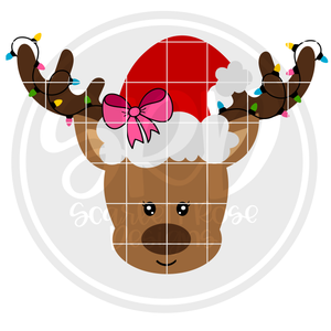 Reindeer Girl 2019 SVG