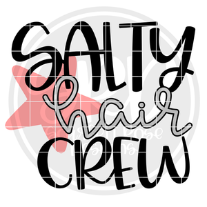 Salty Hair Crew SVG