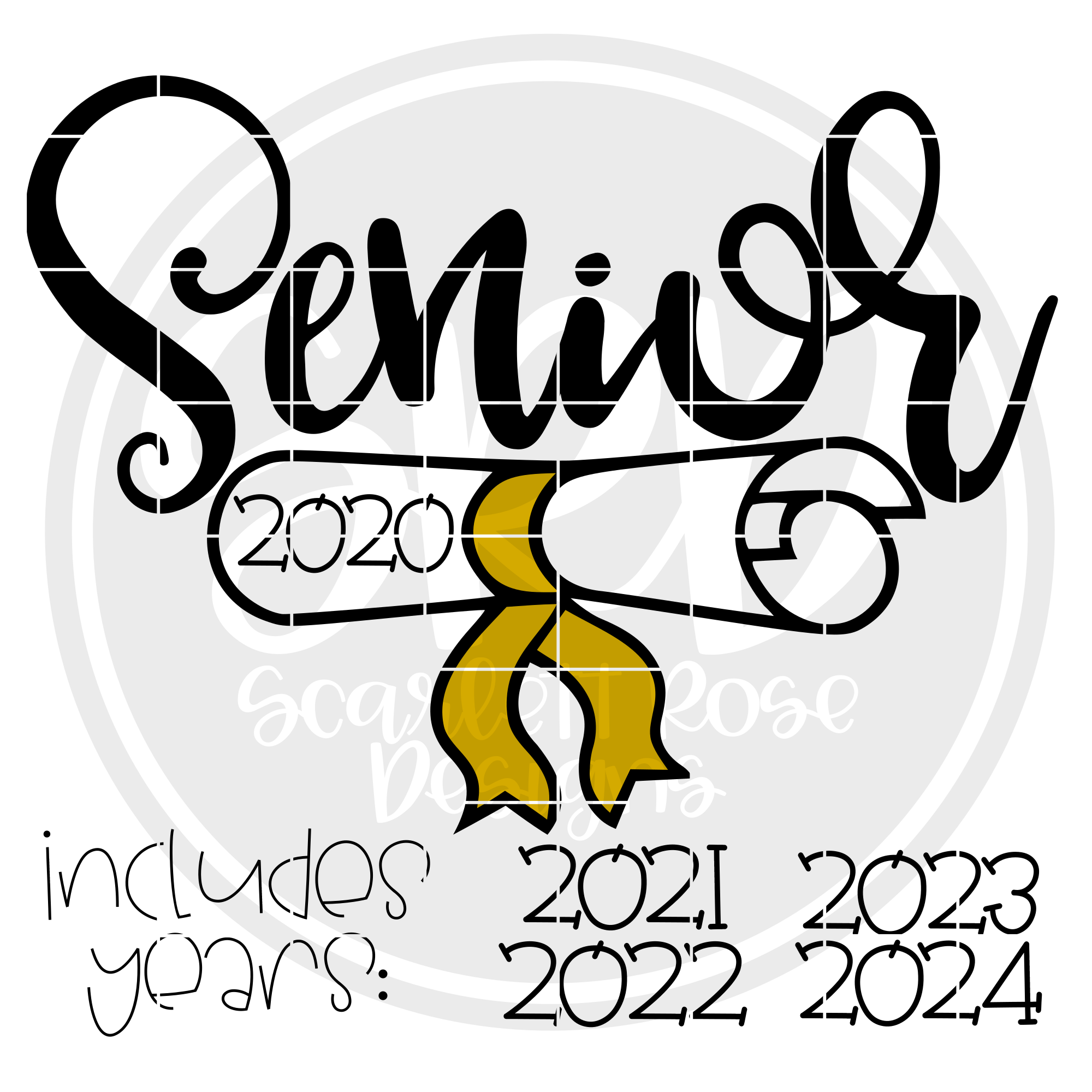 School Svg Senior 2020 Diploma Svg Svg Cut File Scarlett Rose Designs