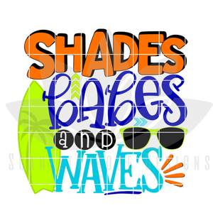 Shades, Babes and Waves SVG