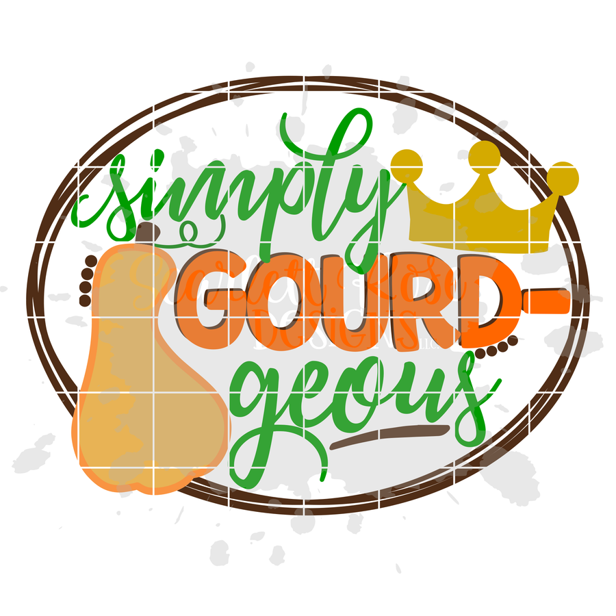 Simply Gourd-Geous SVG