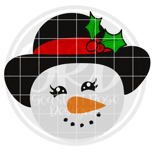 Snow Girl 2019 SVG
