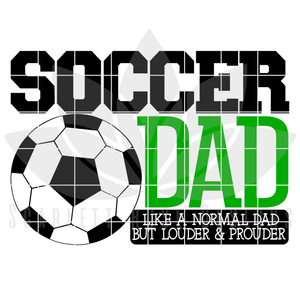 Soccer Dad - Soccer Mom SVG SET