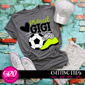 Soccer Gear - Proud Gigi SVG