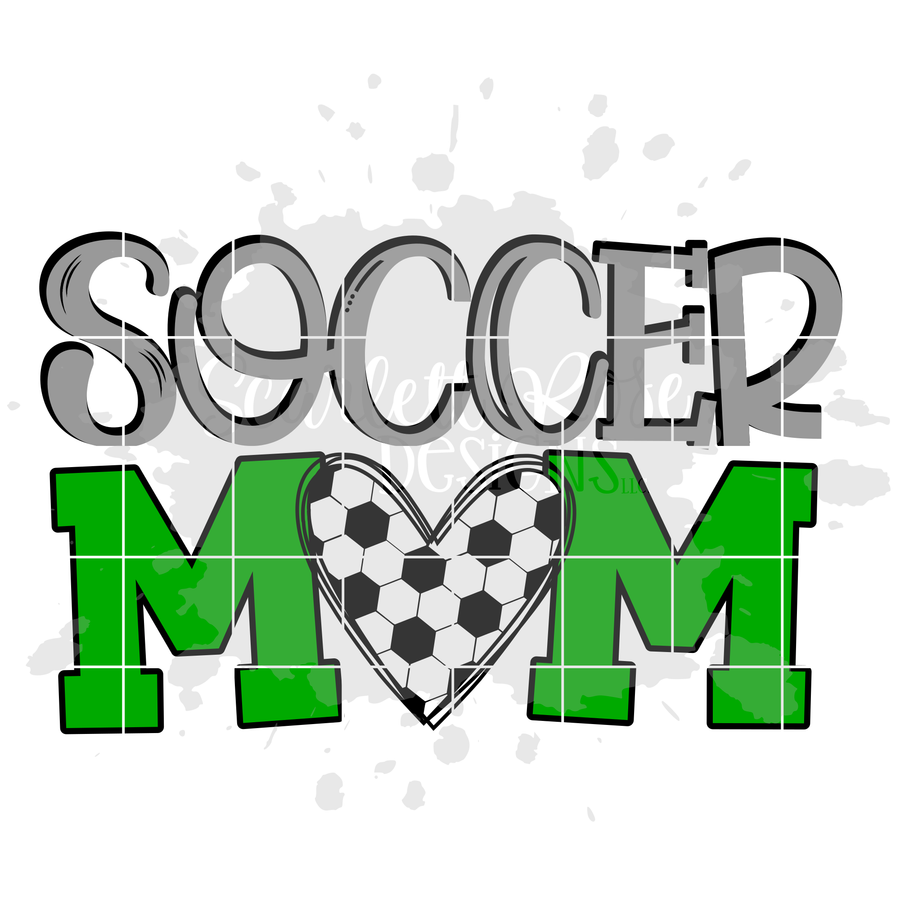 Soccer Mom SVG