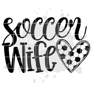 Soccer Wife SVG